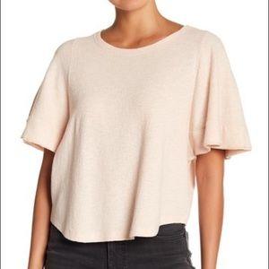 Madewell Ingrid Blush Pink Dolman Sleeve Blouse